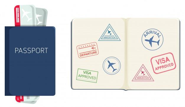 جملات انگلیسی درباره پاسپورت و ویزا + ترجمه