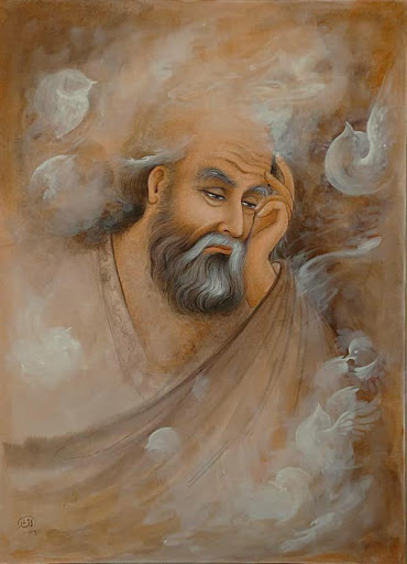 نقاشی در مورد ثریا